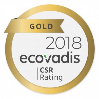 Label Ecovadis 2018